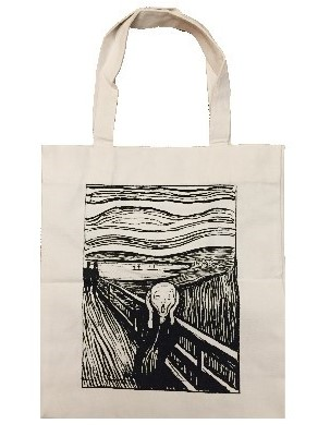 Edvard Munch Borsa Shopper,L'Urlo