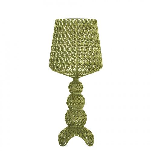 Kartell - Lampada da tavolo Mini Kabuki Green (Verde), design Ferruccio  Laviani